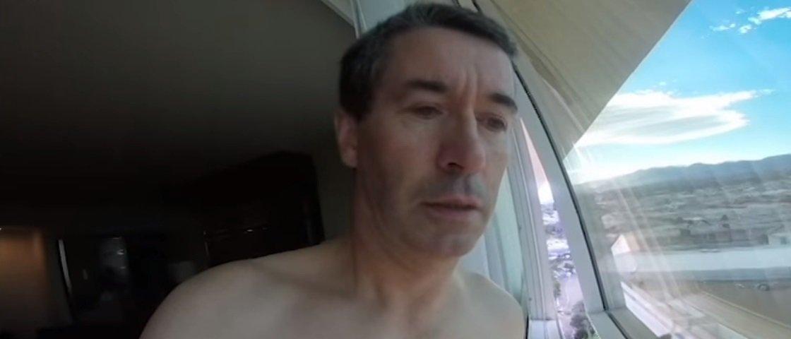 Sem saber usar GoPro do filho, homem se confunde e faz vídeo hilário