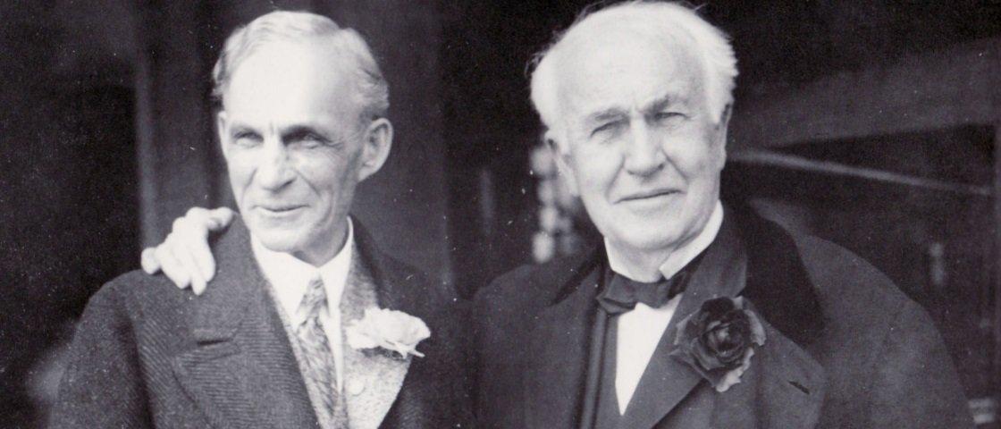 """Você não vai acreditar na """"lembrança"""" que Thomas Edison deixou a Henry Ford"""
