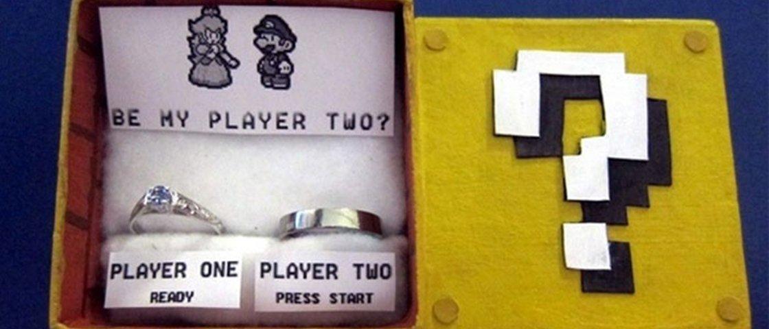 As 12 caixas de alianças de noivado mais nerds que você já viu