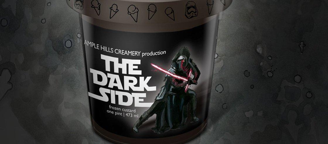 Star Wars: escolha o lado da força até no seu sorvete