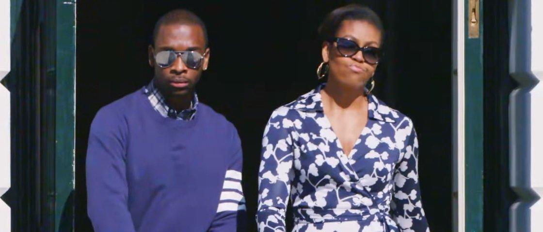 Michelle Obama, a nova rapper dos Estados Unidos [vídeo]