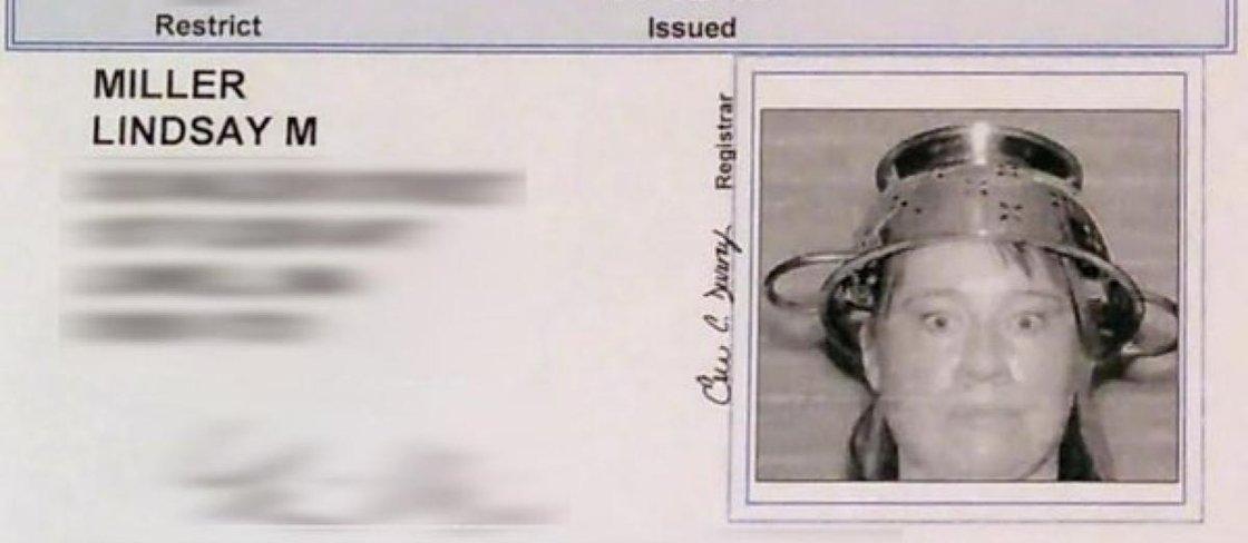 10 carteiras de motorista e identidades bizarras