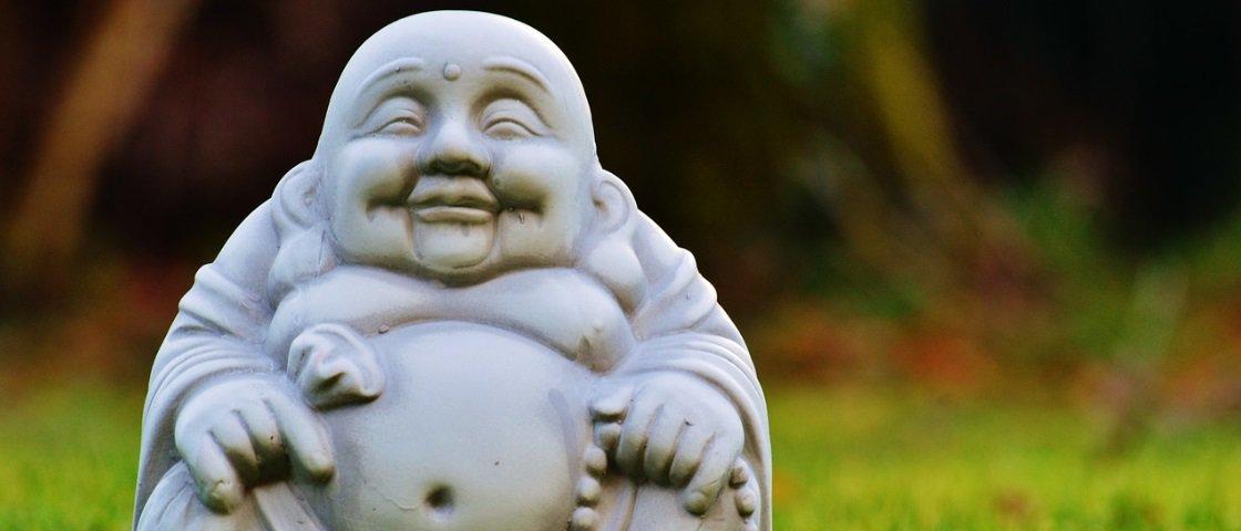 Sabia que a figura do Buda gorducho e feliz foi inspirada em um monge real?  - Mega Curioso