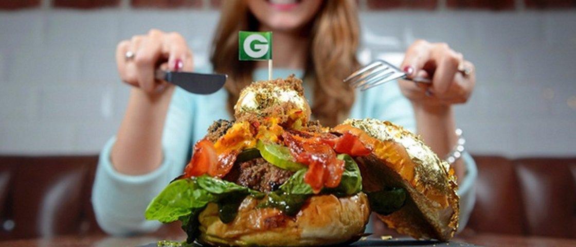 7 comidas de fast-food feitas apenas para os insanamente ricos