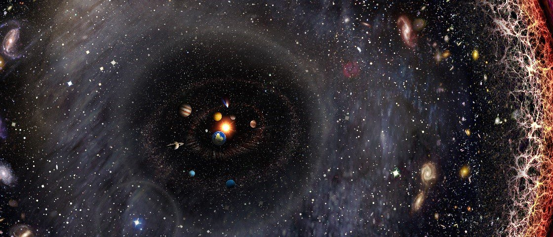 Trabalho incrível retrata todo o Universo em apenas uma imagem
