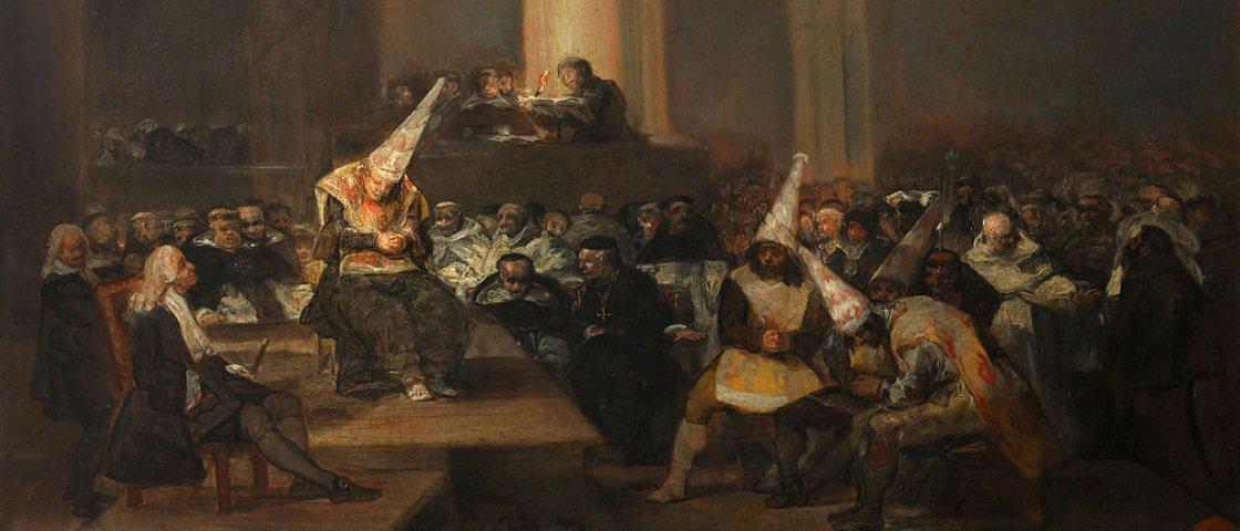 Auto de fe de la Inquisición, de Francisco de Goya