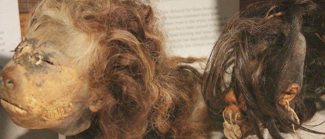 Conheça a história por trás das cabeças encolhidas das tribos Jivaro
