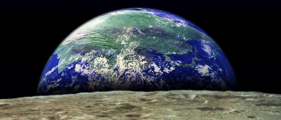 Terra teria se chocado com outro planeta há 4,5 bilhões de anos