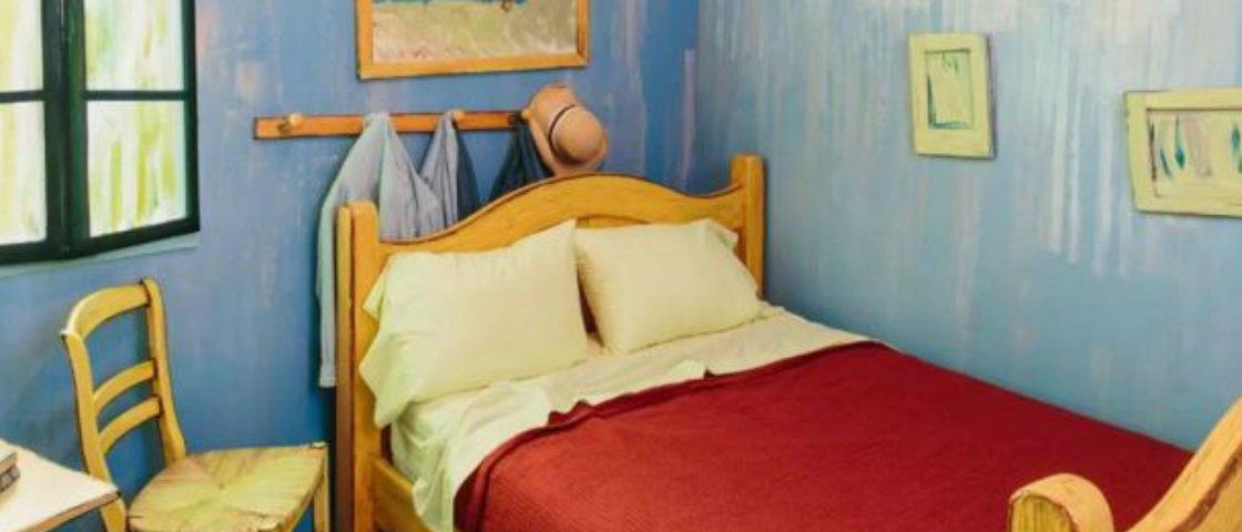 Por US$ 10 você pode dormir na versão real de um quadro de Van Gogh
