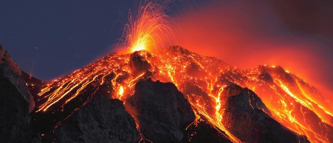 7 maiores explosões vulcânicas da história da humanidade