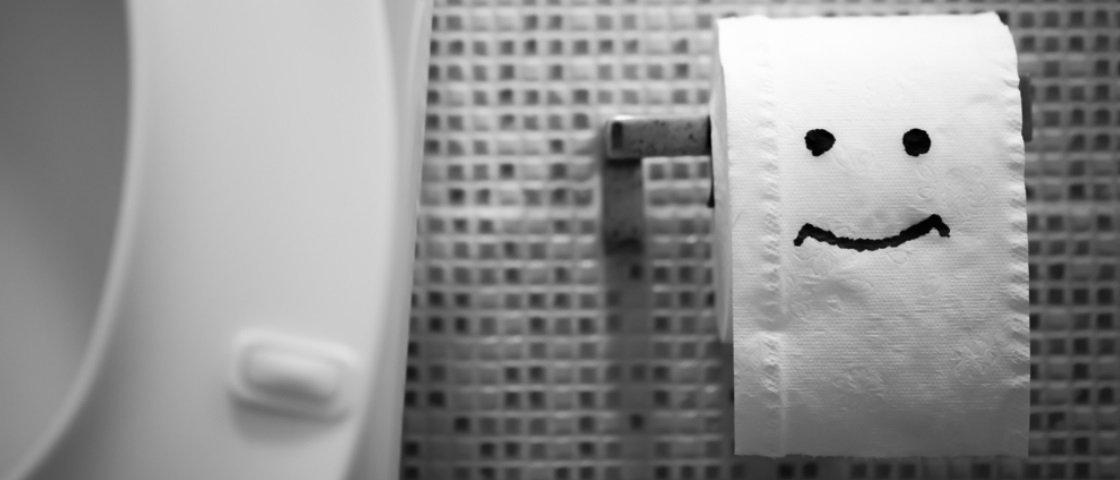 11 coisas que você já pensou no banheiro do escritório