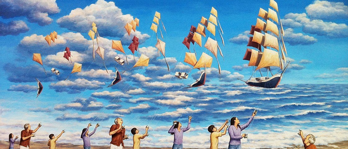 17 ilusões de ótica em pinturas que vão enganar o seu cérebro
