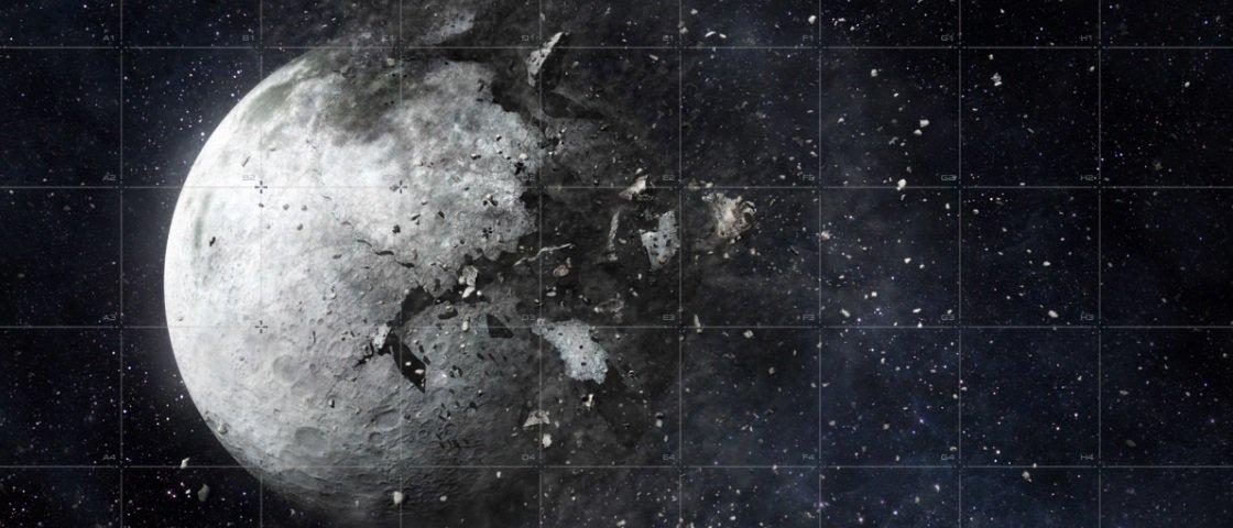 O que aconteceria se explodíssemos a Lua?