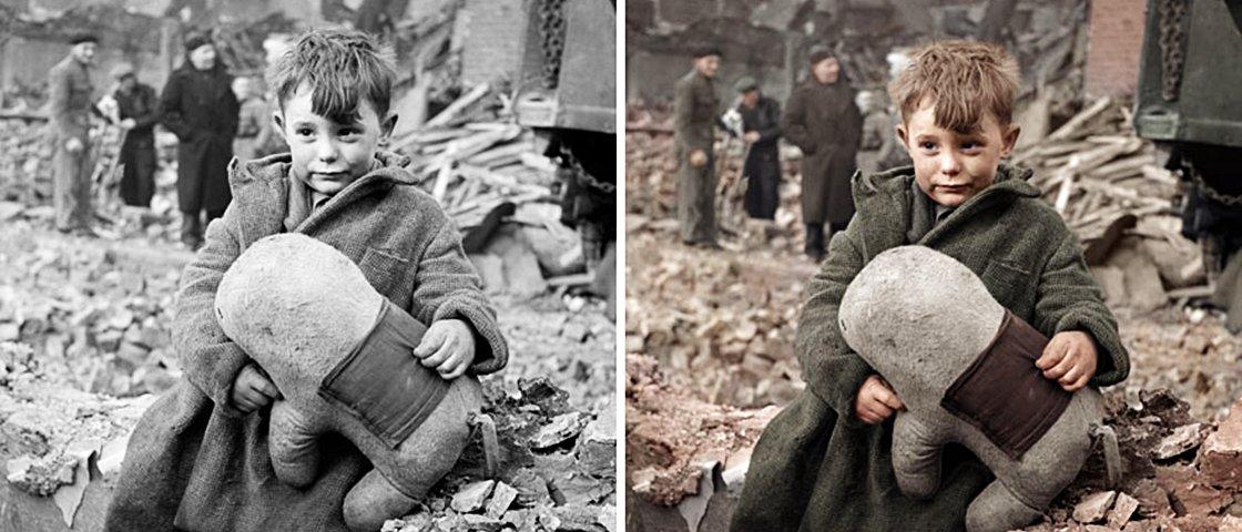 19 fotos históricas em preto & branco que foram coloridas digitalmente