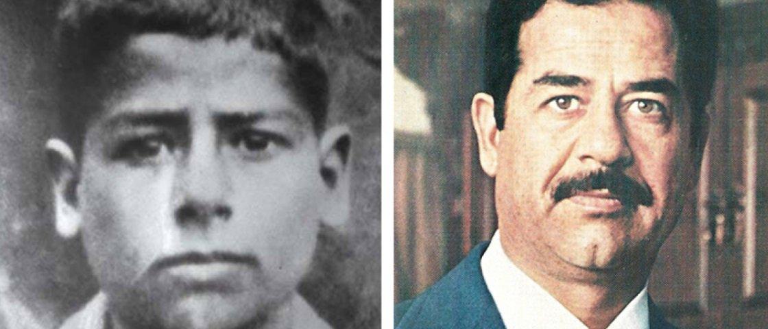 Confira as fotos de infância de 13 das figuras mais malignas da História