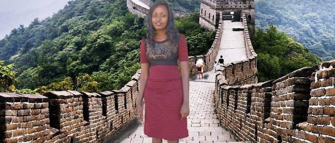 Queniana ganha viagem à China depois de fazer montagens tosquíssimas