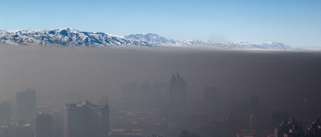 Confira a impressionante foto da pior poluição do ar de todos os tempos
