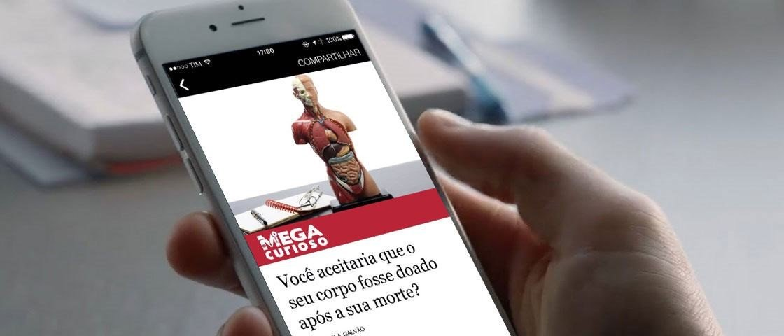O Mega Curioso já está nos Instant Articles do Facebook