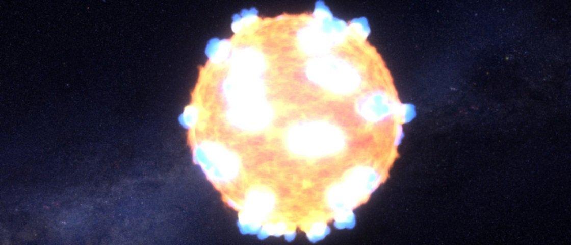 NASA registra onda de choque emitida pela explosão de uma estrela [vídeo]
