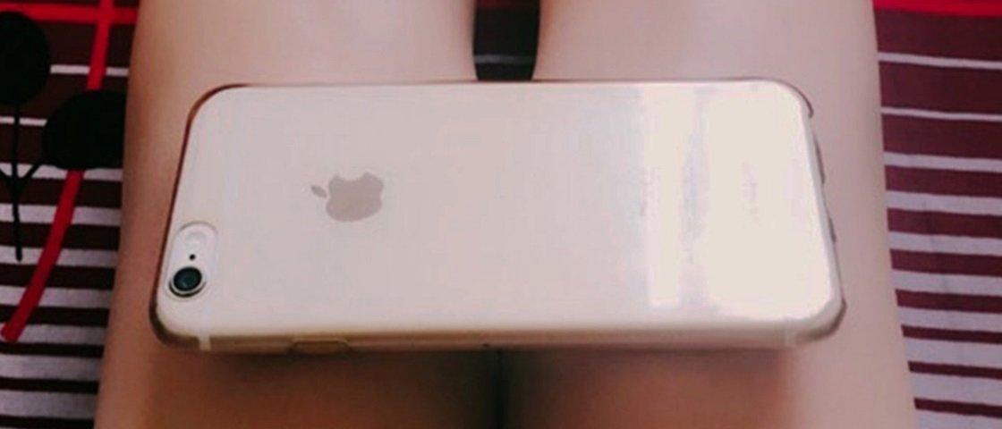 "Depois da ""cintura A4"", o novo desafio de magreza é ter joelho de iPhone 6"