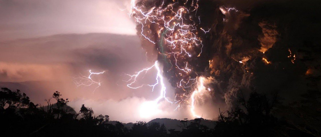 15 GIFs que mostram como a natureza libera a sua ira na Terra