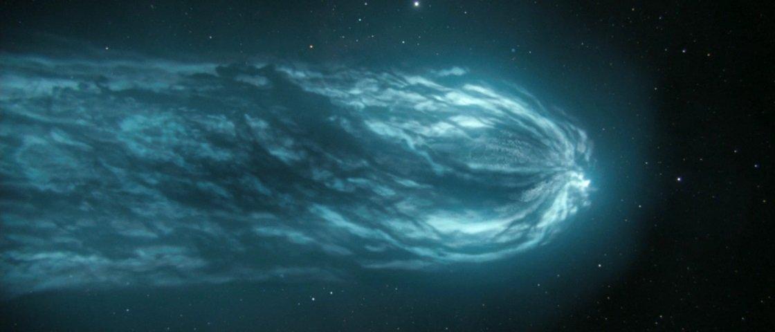 """Terra """"pegará carona"""" na cauda do cometa Halley durante o próximo mês"""