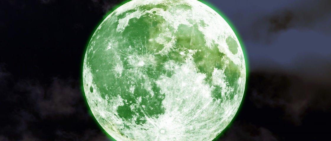 Será mesmo que a Lua vai ficar verde nesta quarta-feira?