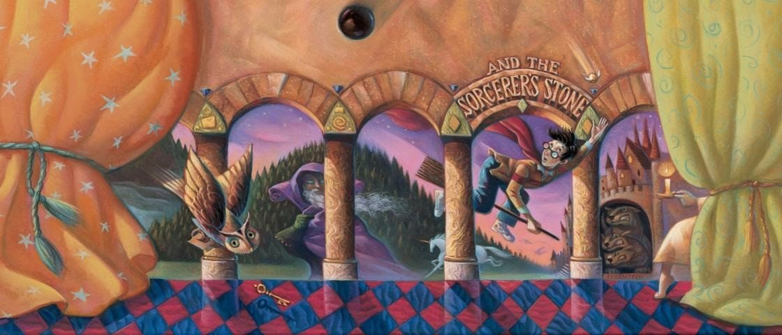 Pottermaníaca transforma quarto com primeira página de 'A Pedra Filosofal'