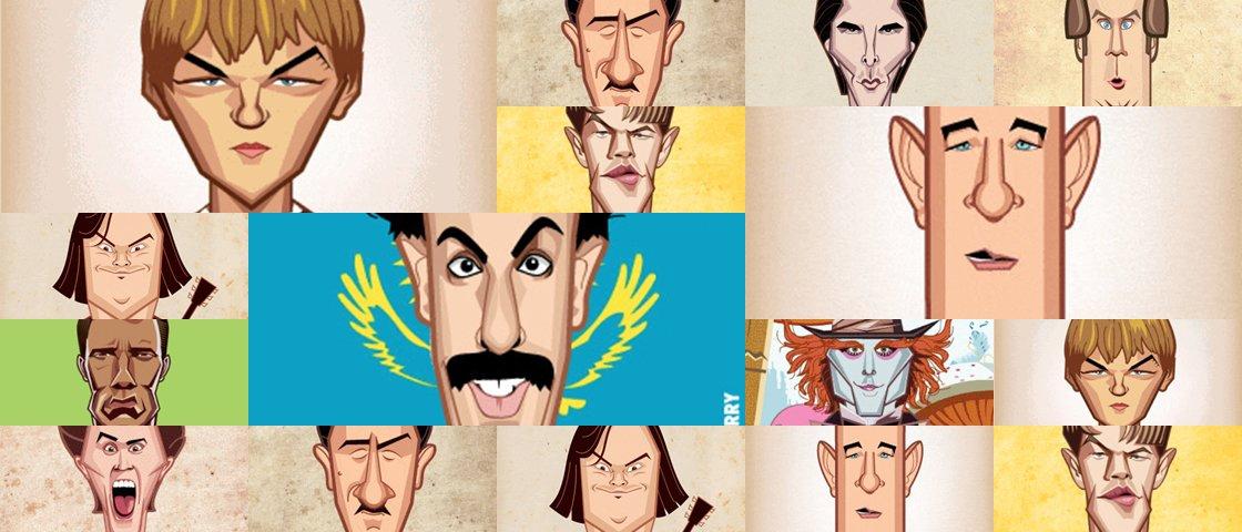 Camaleões: como estes 11 atores se transformam para cada papel