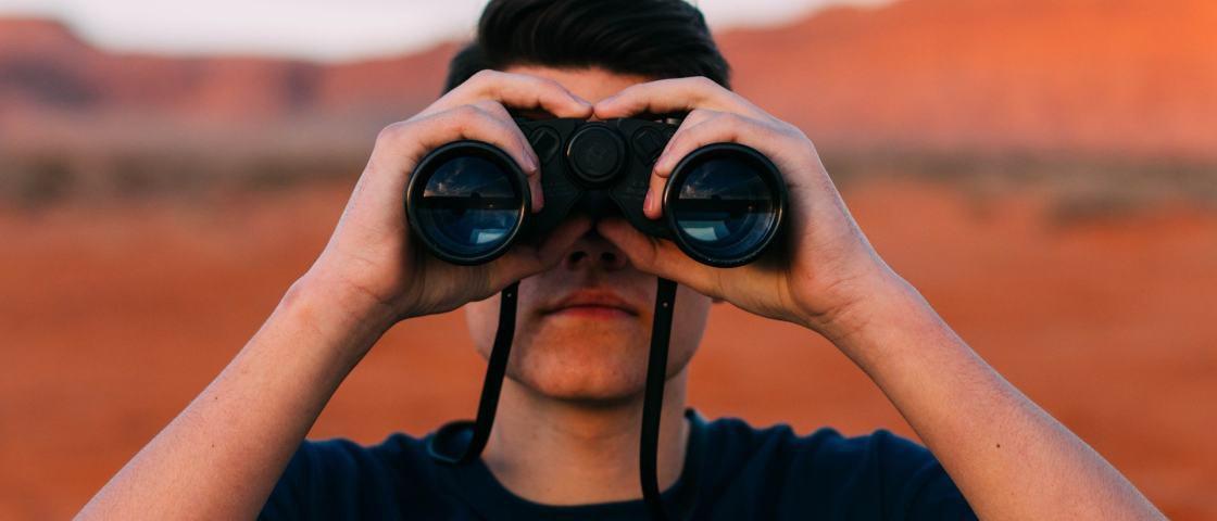 Qual é a distância máxima que seu olho consegue enxergar?