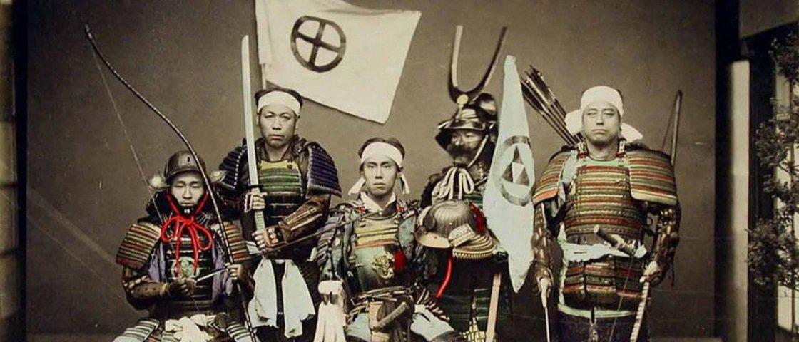 5 curiosidades infames sobre os samurais que você talvez desconheça