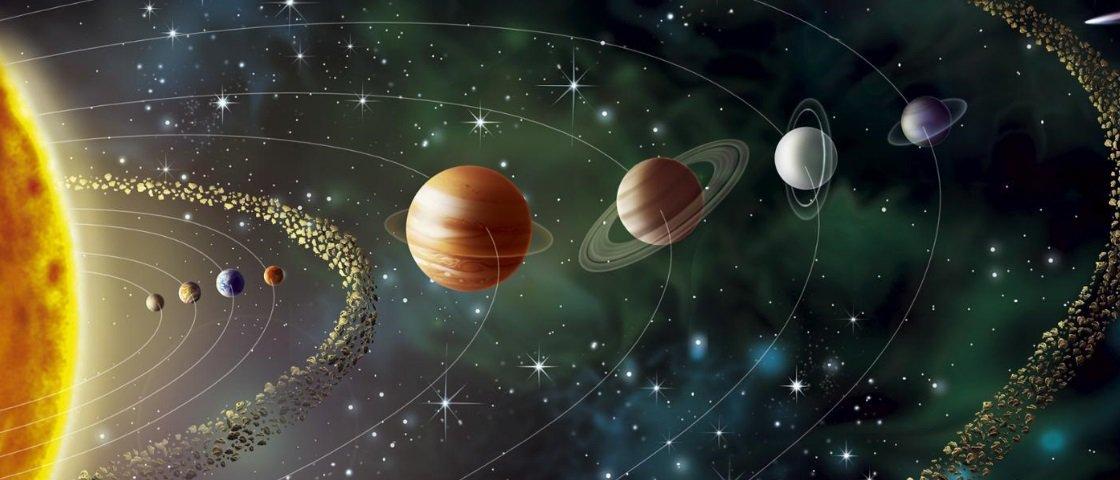 Por que os planetas do Sistema Solar têm cores diferentes?