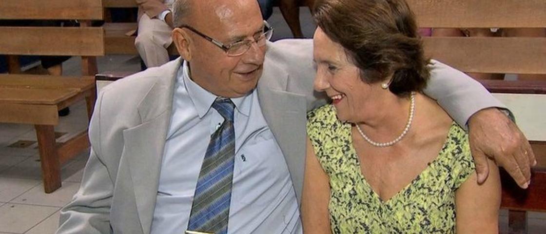 Meio século após fim de noivado, idosos se reencontram e oficializam união