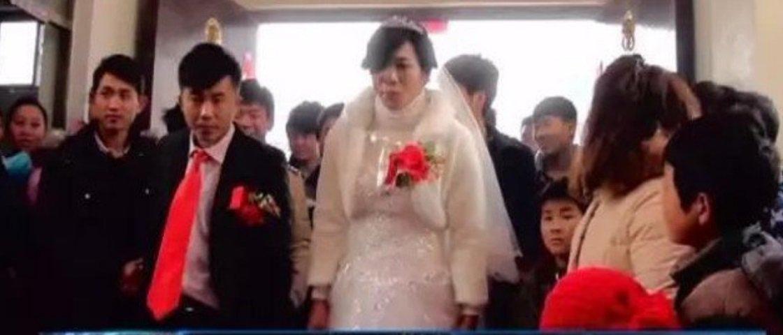 Três dias depois de casado, chinês descobre que esposa grávida era homem