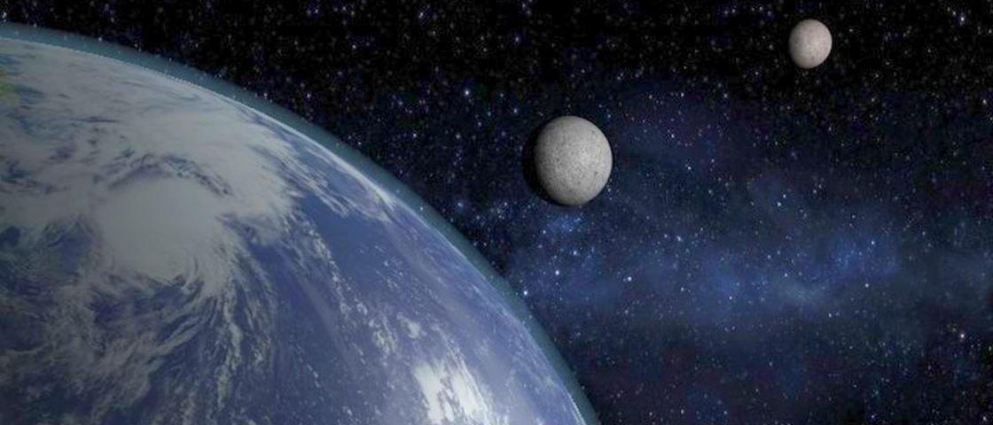 A Lua ganhou uma irmã mais nova: minilua foi descoberta orbitando a Terra