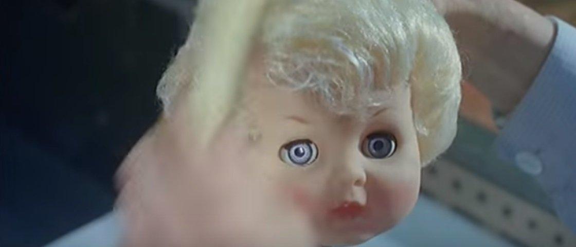 Não gosta de bonecas? O que você vai ver a seguir vai te dar arrepios!