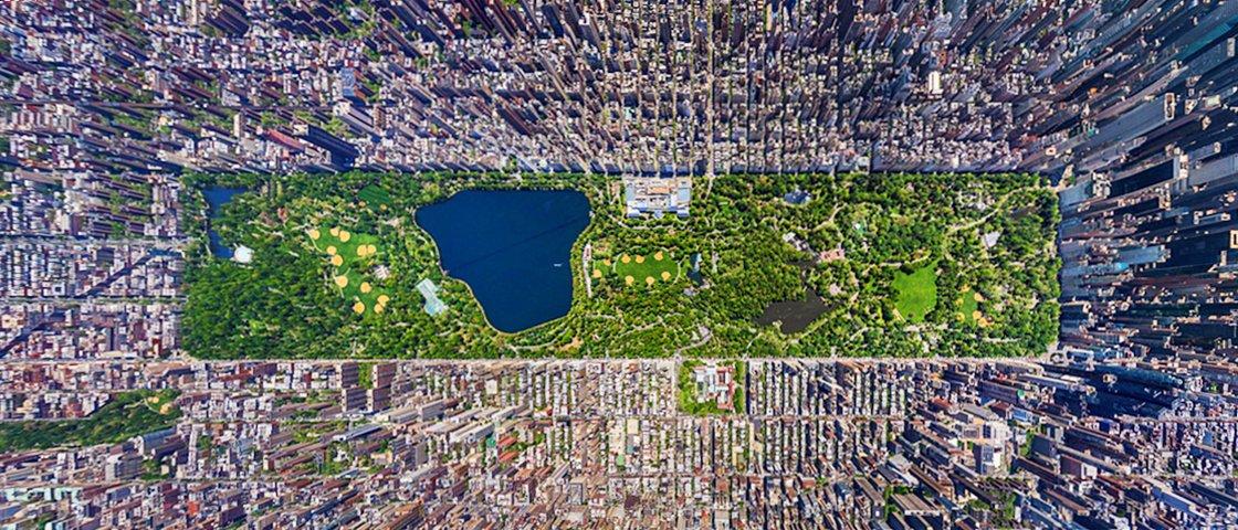 Estas 23 imagens de satélite vão mudar a sua maneira de ver o mundo