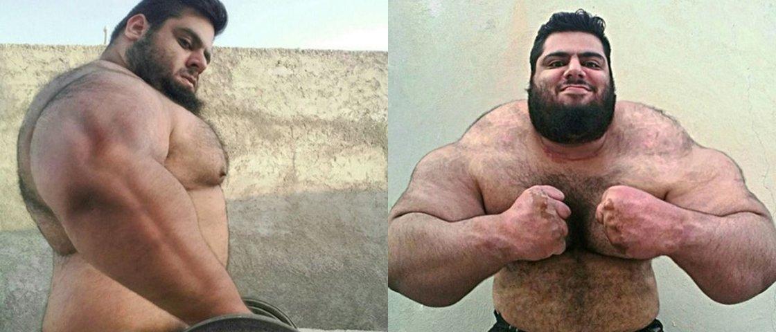 175 kg e muitos músculos: conheça o Hulk da vida real