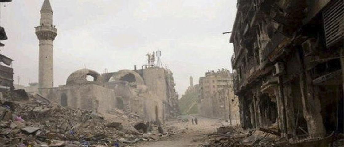 20 imagens que mostram o antes e o depois da Guerra Civil da Síria