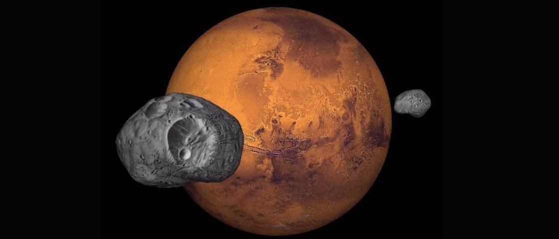 Fobos e Deimos: conheça a dramática origem das duas luas de Marte