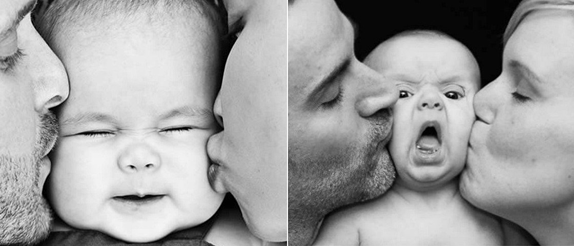11 fotos de bebês que deram muito errado