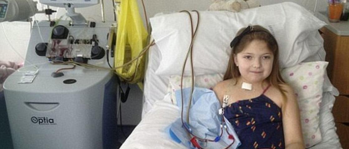'SUS da Inglaterra' nega medicamento que pode salvar vida de garota