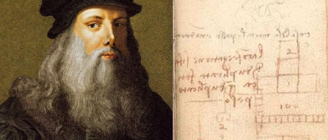 Da Vinci esboçou as leis do atrito 2 séculos antes de elas surgirem