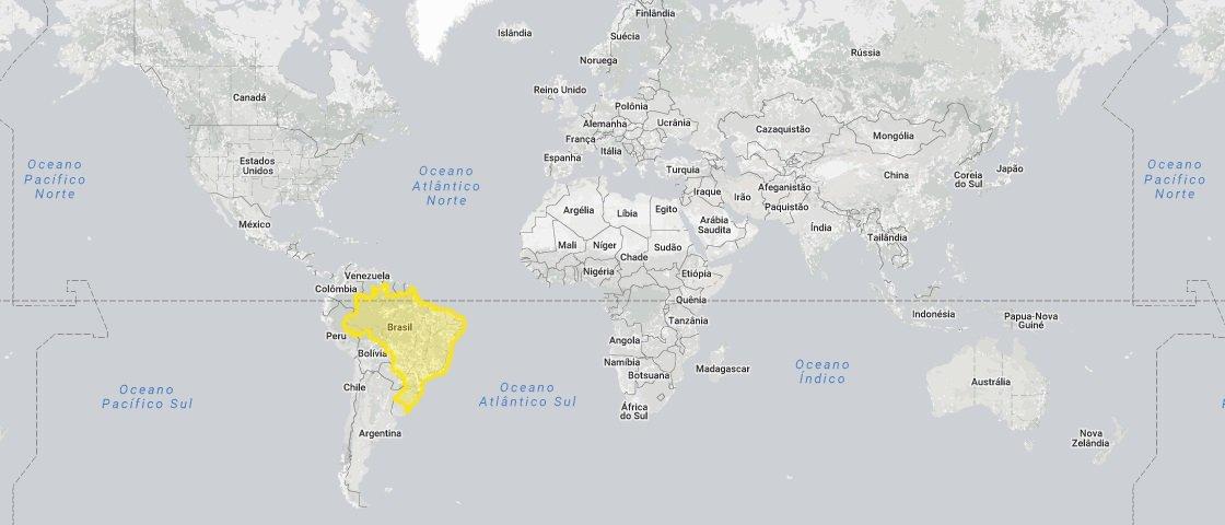Estes mapas certamente vão mudar a forma como você vê o mundo