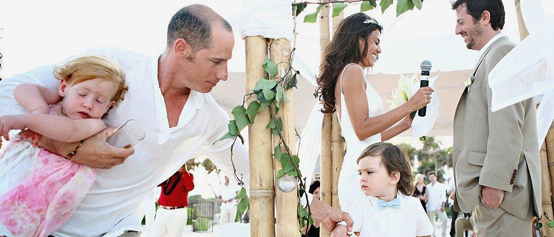 13 crianças que foram a casamentos e chamaram mais atenção do que as noivas