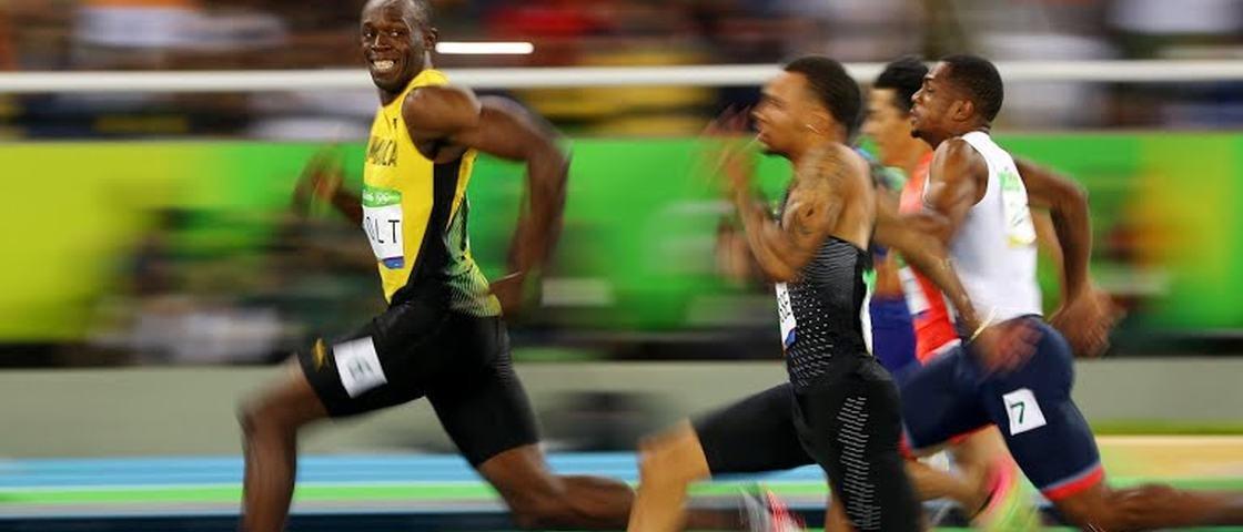 13 coisas que você faz em 9 segundos, enquanto Bolt ganha uma medalha