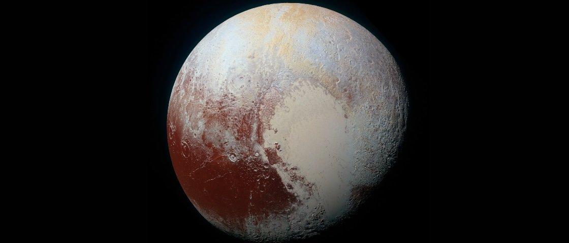 Quer saber como seria pousar com um foguete em Plutão?