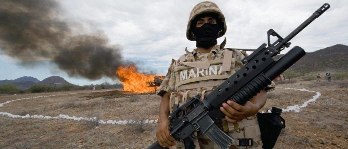 Confira 15 imagens sinistras da guerra contra o tráfico de drogas no México