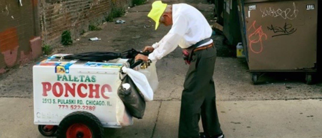 Fidencio Sanchez, o vendedor de sorvetes que comoveu internautas