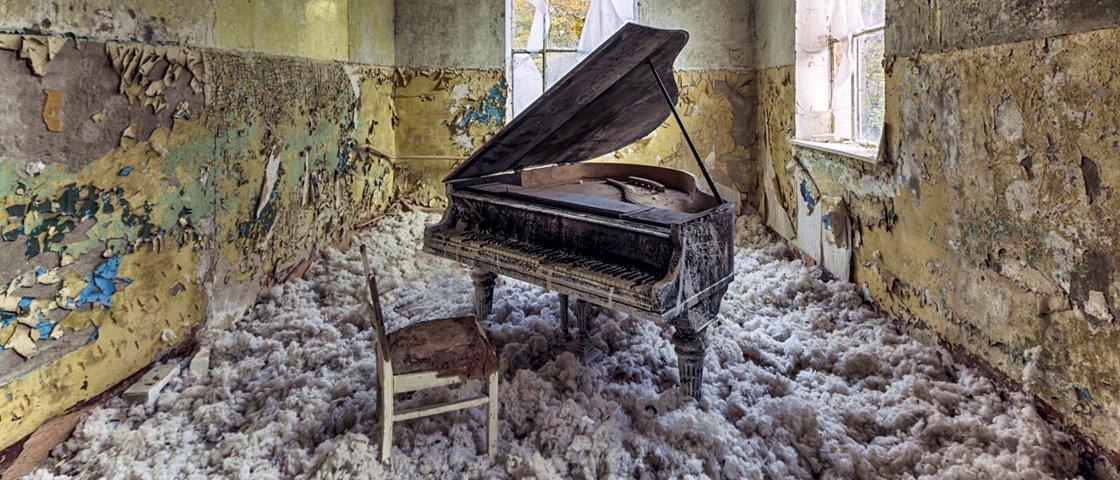 Estas fotografias incríveis de lugares abandonados vão impressionar você